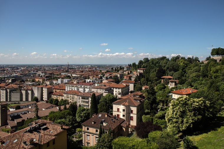 Image: Bergamo Returns To Normality After Covid-19 Pandemic