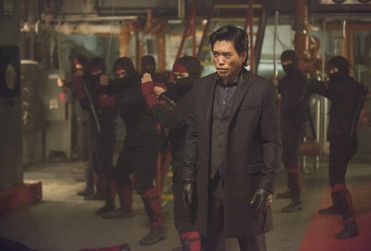 """Peter Shinkoda as Nobu in \""""Daredevil.\"""""""