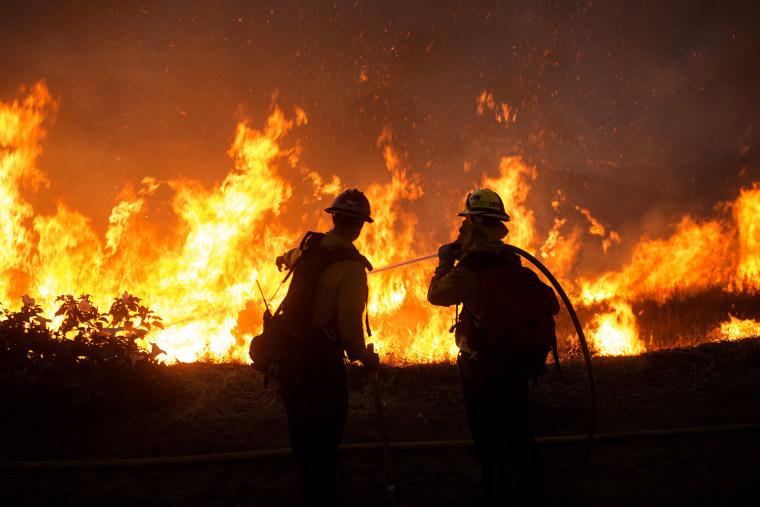 Image: Apple fire