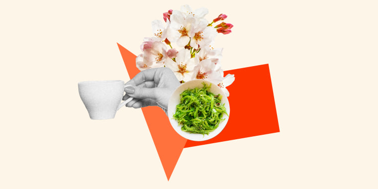 The Japanese diet is filled with nutritious plant-based foods and drinks like seaweed and green tea.