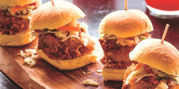 JJ Johnson's Gullah Shrimp Burgers
