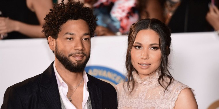 Jussie Smollett's sister, actress Jurnee Smollett, is maintaining her brother's innocence in her first public comments since he was accused of filing a false report about an alleged hate crime last year.