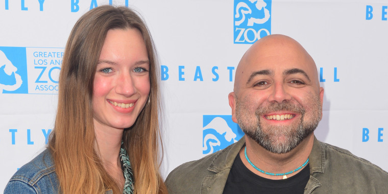 Johnna Goldman and Duff Goldman