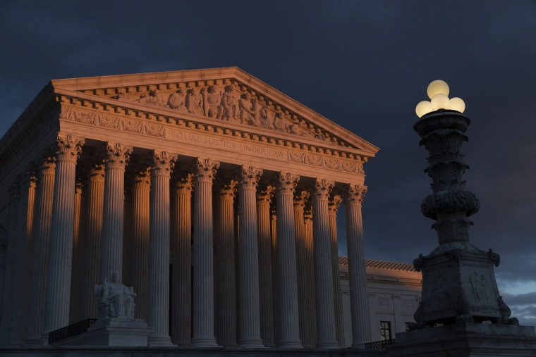 Image: Supreme Court exterior at Sunset