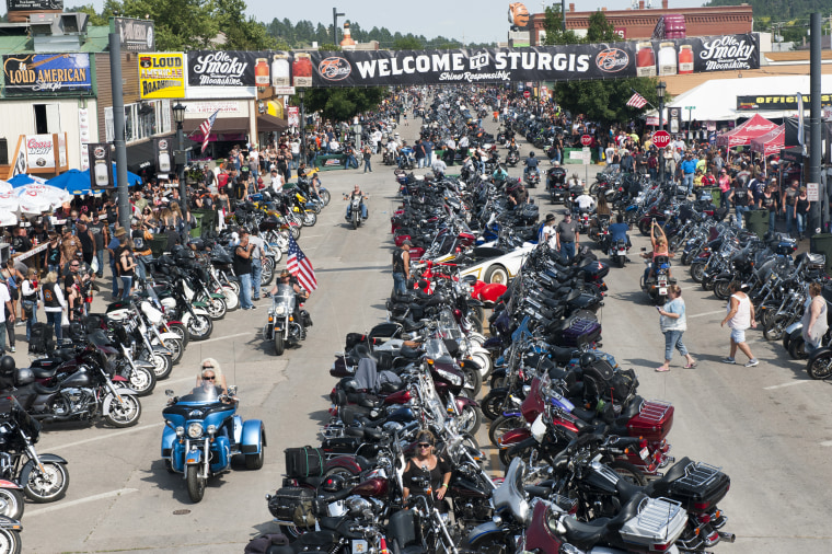 Image: Annual Sturgis Motorcycle Rally Celebrates Its 75th Year