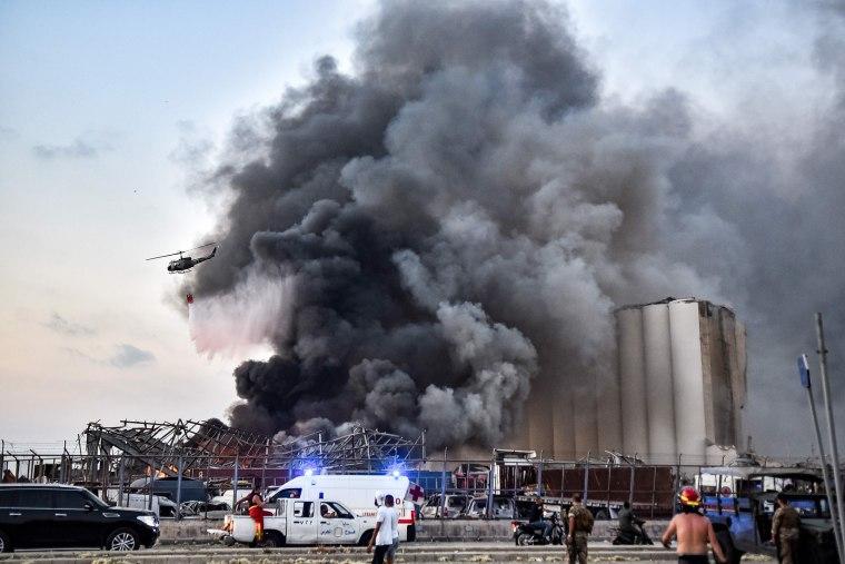 Image: Beirut explosion