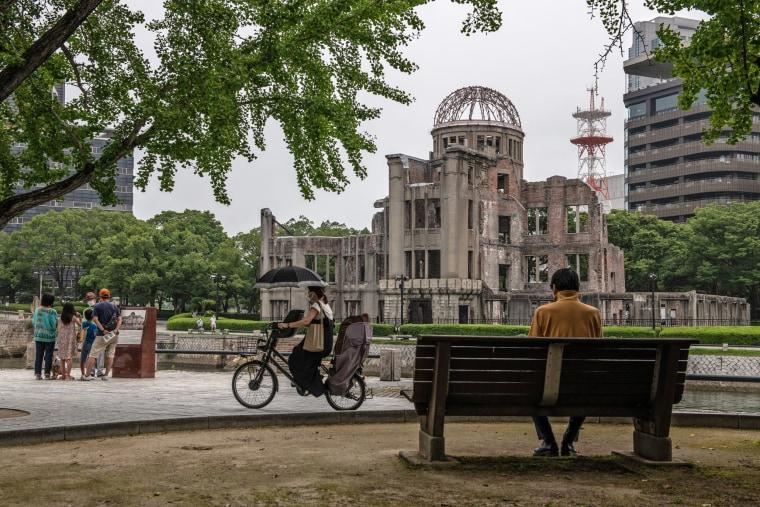 Изображение: Хиросима готовится к 75-летию атомной бомбы
