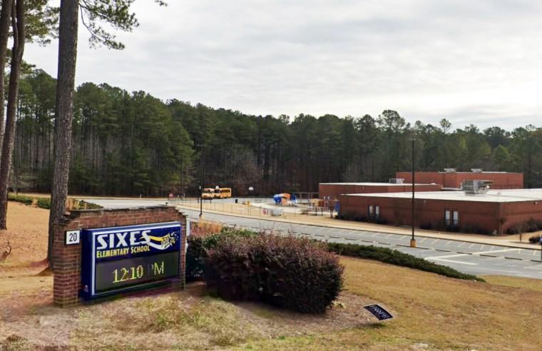 Sixes Elementary School in Canton, Ga.