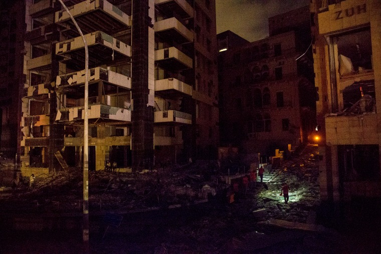 Image: Massive Explosion Near Port Area Of Beirut