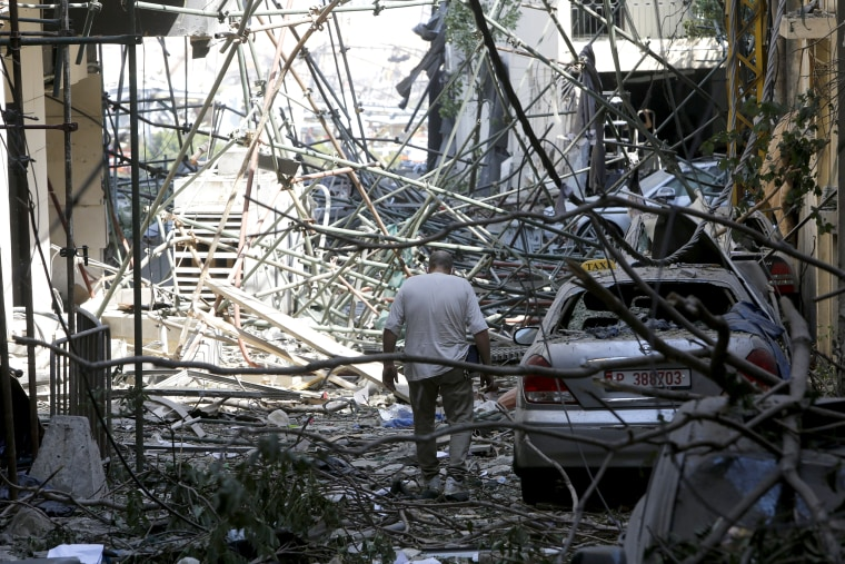 Image: Beirut Treats Wounded And Seeks Answers After Deadly Blast