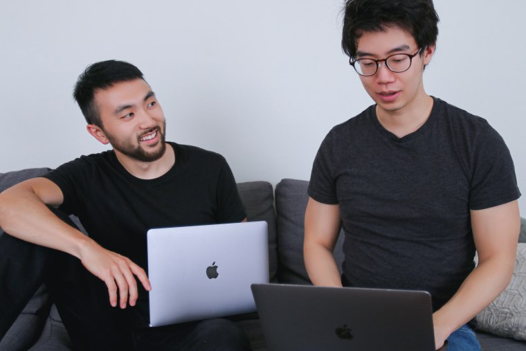 Karat co-founders Will Kim, left, and Eric Wei.