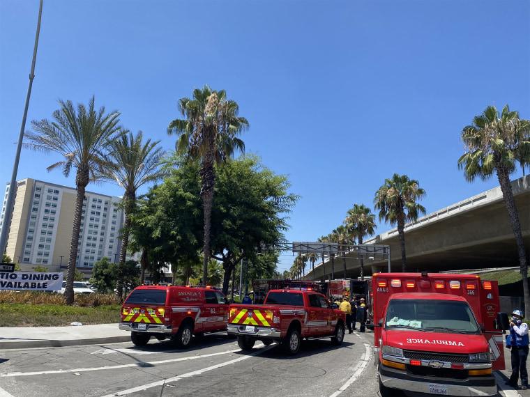 Image: Cambria Hotel brawl