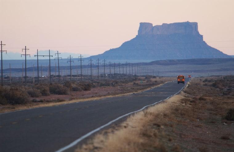 Image: Navajos Refuse Casino Riches
