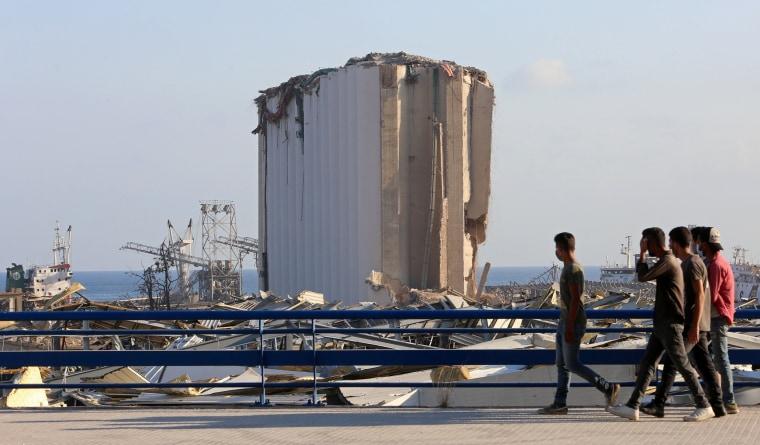 Image: Beirut explosion damage