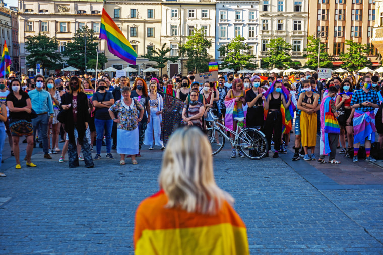 Image: LGBT Rights Remain Campaign Fodder In Poland's Presidential Runoff