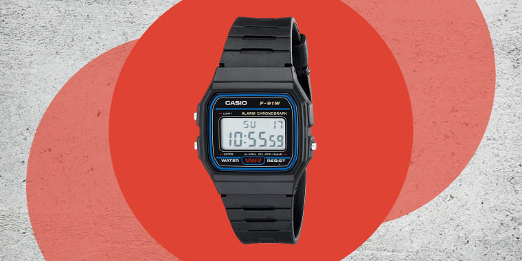 Casio F91W-1 Classic Resin Strap Digital Sport Watch is the best men's watch according to an NBC News editor. Here's why this $13 watch is his fashion must have for the last decade. Shop Casio watches including G Shock and more.