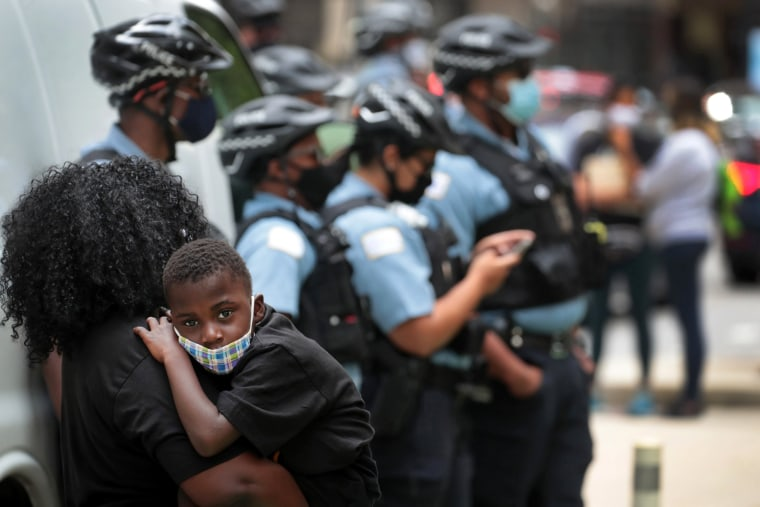 Image: BESTPIX - Teachers Union In Chicago Protests School Openings And Calls For Remote Learning