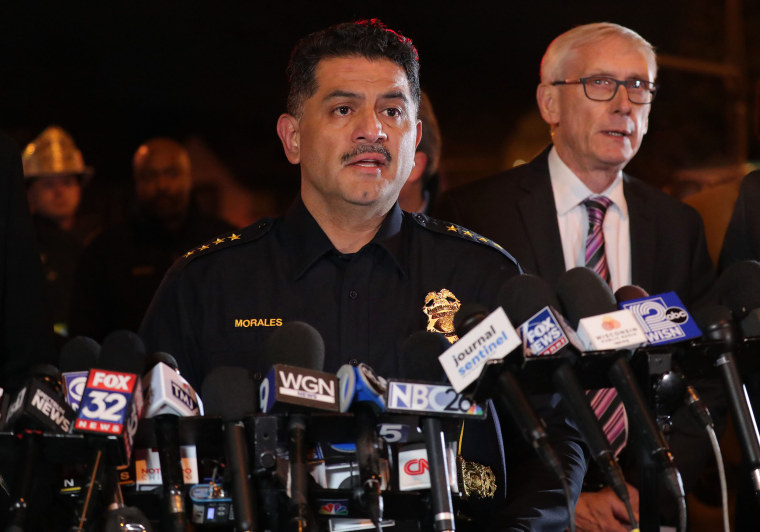 Image: Milwaukee Police Chief Alfonso Morales, Syndication: Milwaukee