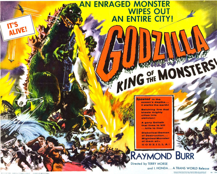 Image: Godzilla, king of the monsters.