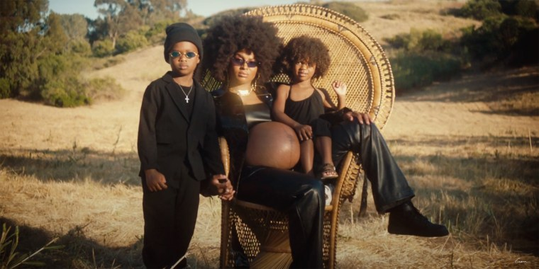 "Ciara's new music video for ""Rooted"" is a tribute to Black excellence and motherhood, and in it, she bares her baby bump days before she gave birth."
