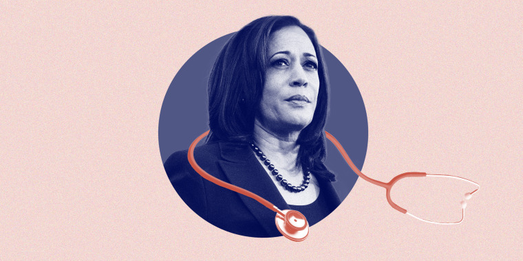 Sen. Kamala Harris brings a long history of fighting for women's health issues to the ticket with Joe Biden this fall.