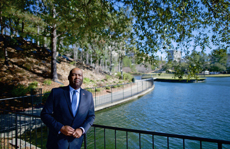Jaime Harrison is running for U.S. Senate, challenging Lindsey Graham in the 2020 election.