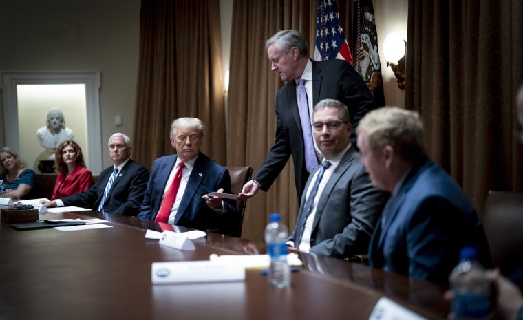 Image: President Trump Meets With US Tech Workers And Signs Executive Order On Hiring American