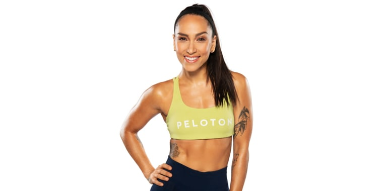 Robin  Arzón, VP of Fitness Programming and a head instructor at Peloton.