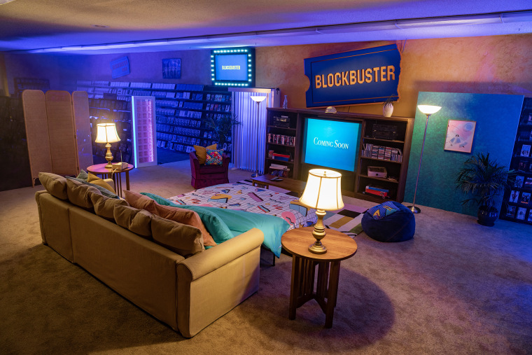 Deschutes County residents will be able to book a one-night slumber party at the world's last Blockbuster store in Bend, Ore.