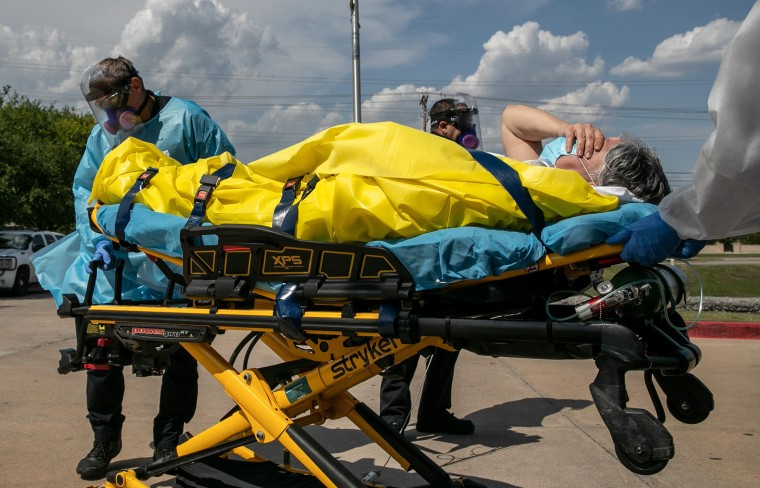 Image: Texas EMS First Responders Face Higher Caseload Amid COVID-19 Pandemic