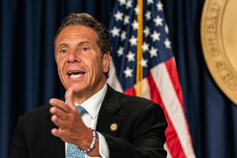 Image: New York Governor Cuomo Holds Briefing In New York