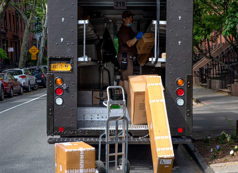 United Parcel Service Delivery In New York City