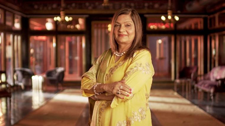 "Sima Taparia in ""Indian Matchmaking"" on Netflix."