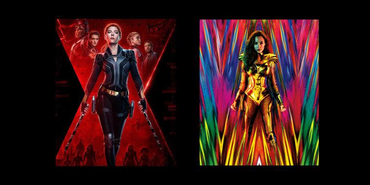 "\""Black Widow\"" and \""Wonder Woman.\"""