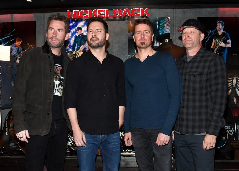 Image: Nickelback Memorabilia Case Dedication At The Hard Rock