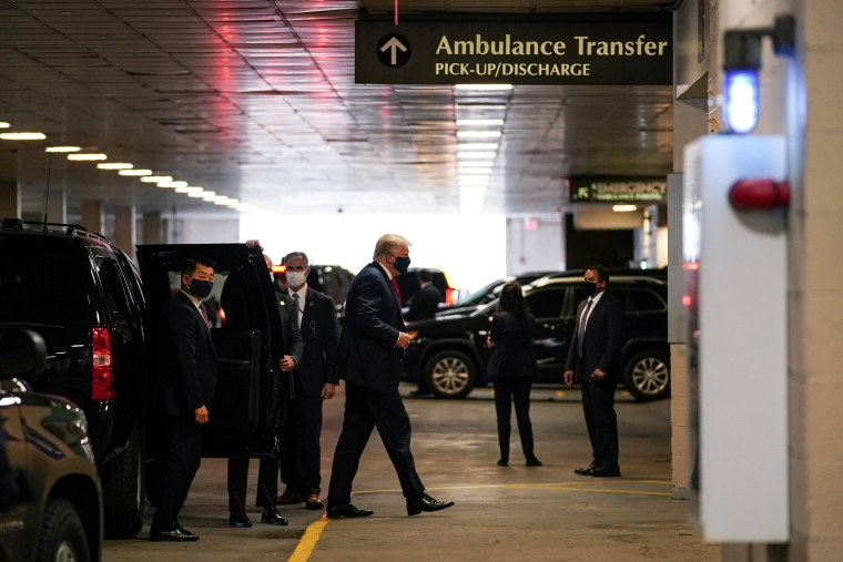 Image: President Donald Trump Visits Brother in New York Hospital