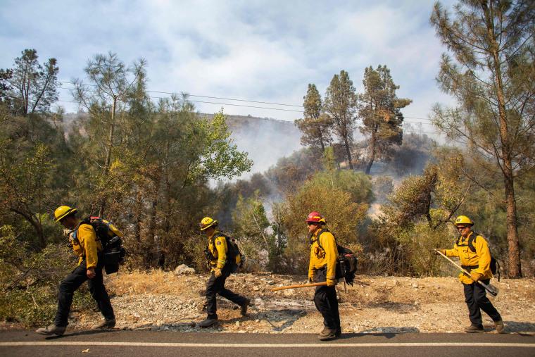 Image: US-FIRE-CALIFORNIA-ENVIRONMENT