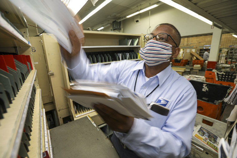 Coronavirus COVID-19 USPS Postal Workers Mailman