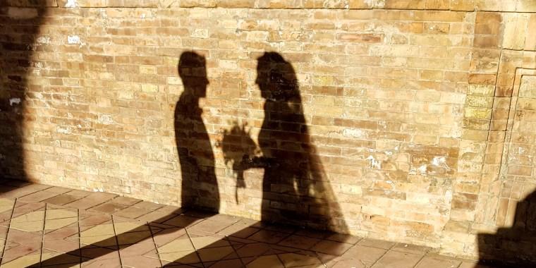 Wedding shadow
