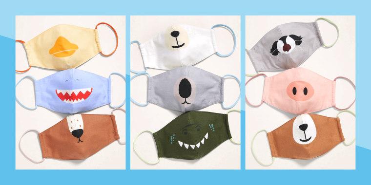 Old Navy Kids Animal Face Masks