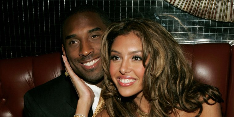 Basketball player Kobe Bryant and wife Vanessa