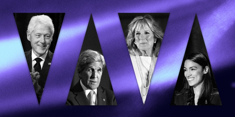 Jill Biden, former President Bill Clinton and Rep. Alexandria Ocasio-Cortez, D-N.Y., will be among the speakers on the second night of the virtual Democratic National Convention.