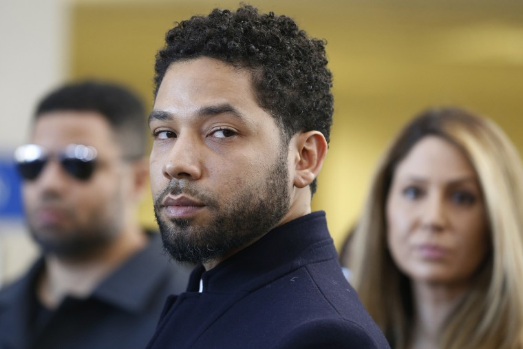 Image: Actor Jussie Smollett Appears Outside Of Court After It Was Announced That All Charges Have Been Dropped Against Him