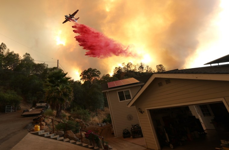 Image: BESTPIX - Hennessey Fire Burns In Napa County
