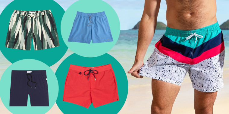 Mens swim shorts and swim trunks. Shop men's swimsuits from Mr. Porter, Chubbies, Lululemon, Bonobos, Gap, Happy Socks, Onia, Hill City and more. Recommendations from celebrity stylists to NBA players, Marvel Superheroes, and Oscar nominees.