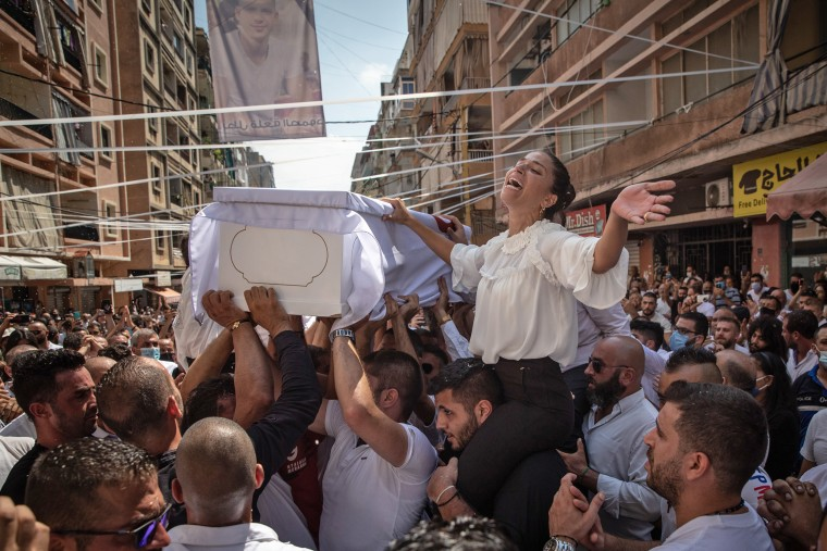 Image: *** BESTPIX *** Beirut Picks Up The Pieces After Deadly Blast