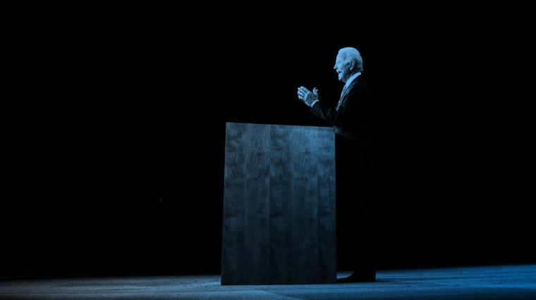 Joe Biden on Thursday was much more the cagey veteran than a lion in winter.