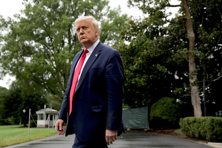 Image: President Donald Trump Departs White House For Florida