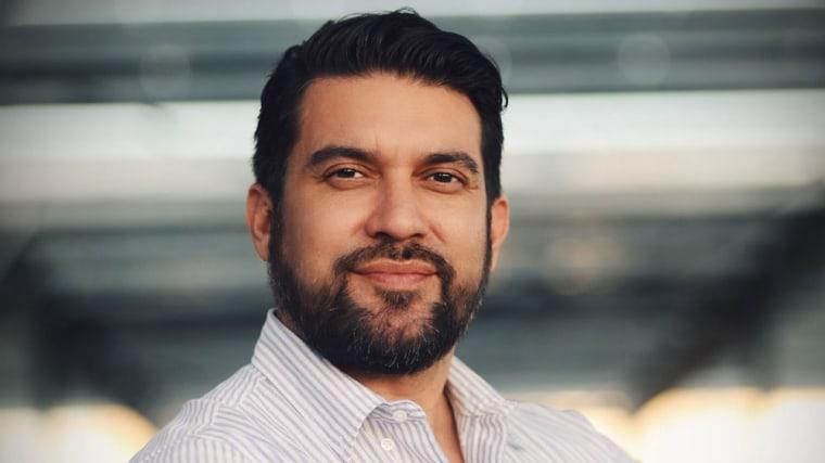 Executive director of Outfest LA Damien Navarro.