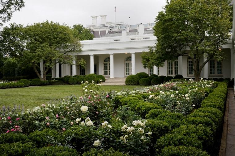 Image: White House Rose Garden Renewed